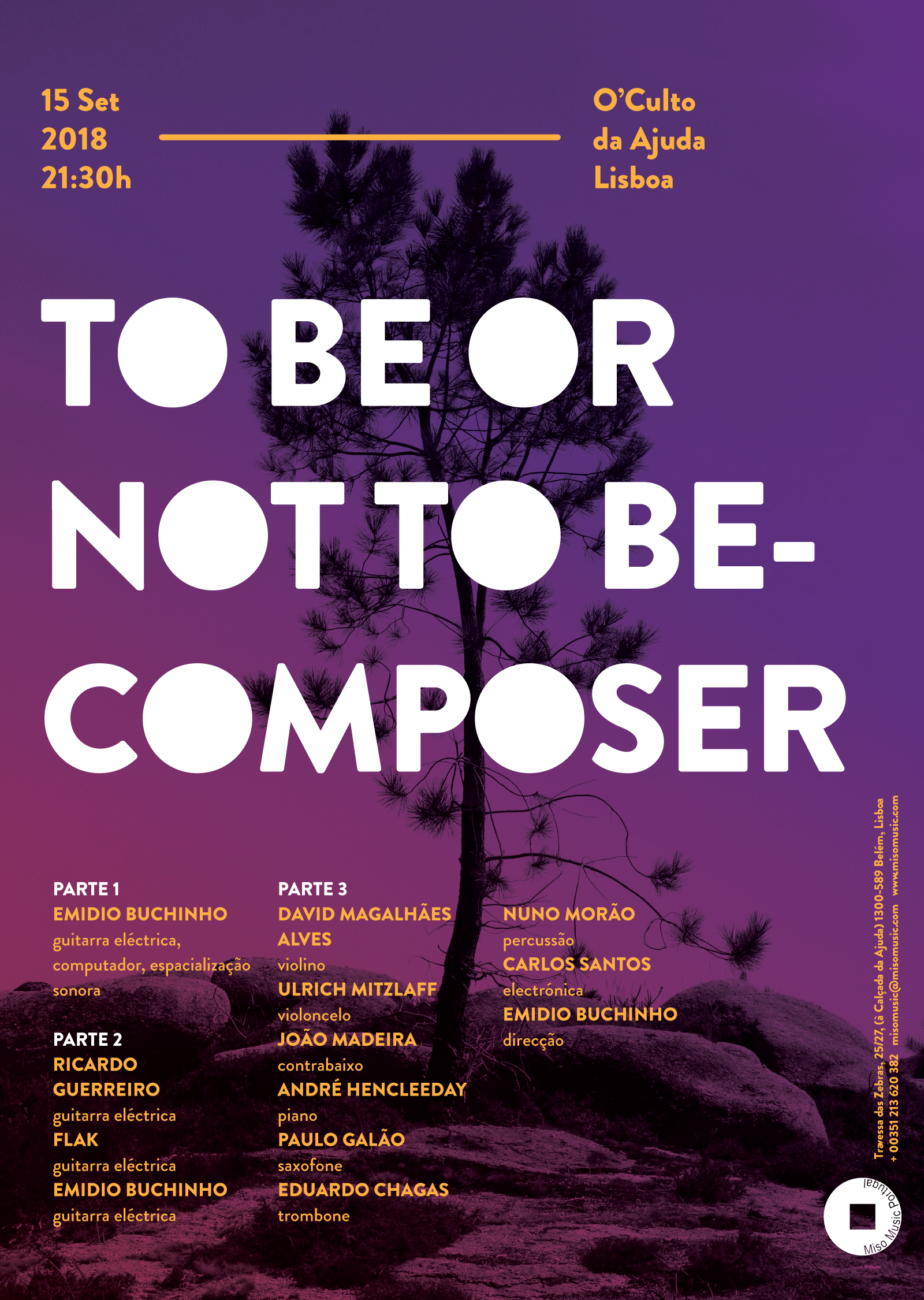 TO BE OR NOT BECOMPOSER